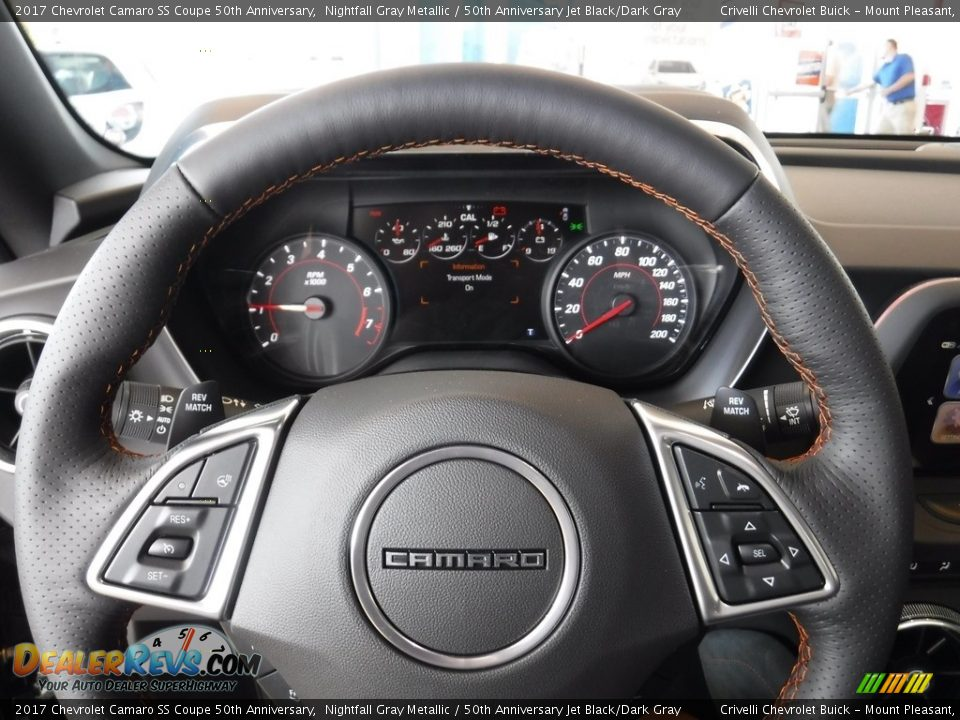 2017 Chevrolet Camaro SS Coupe 50th Anniversary Steering Wheel Photo #14