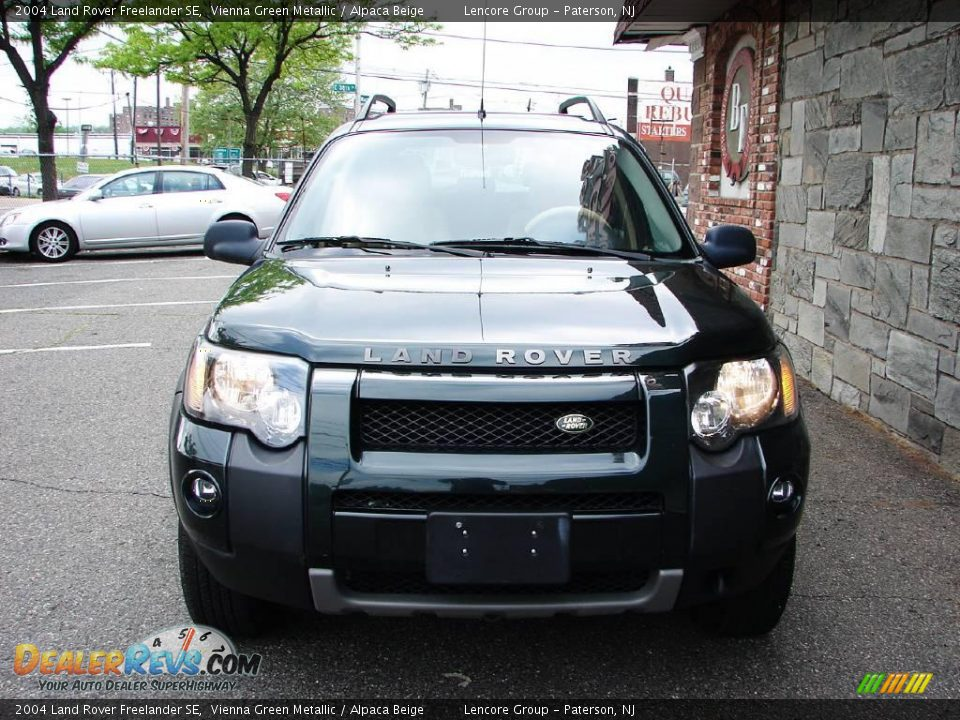 2004 land rover freelander se vienna green metallic. Black Bedroom Furniture Sets. Home Design Ideas
