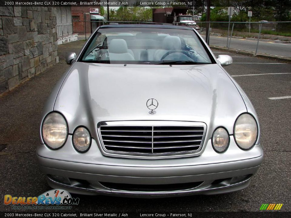 2003 mercedes benz clk 320 cabriolet brilliant silver for 2003 mercedes benz clk