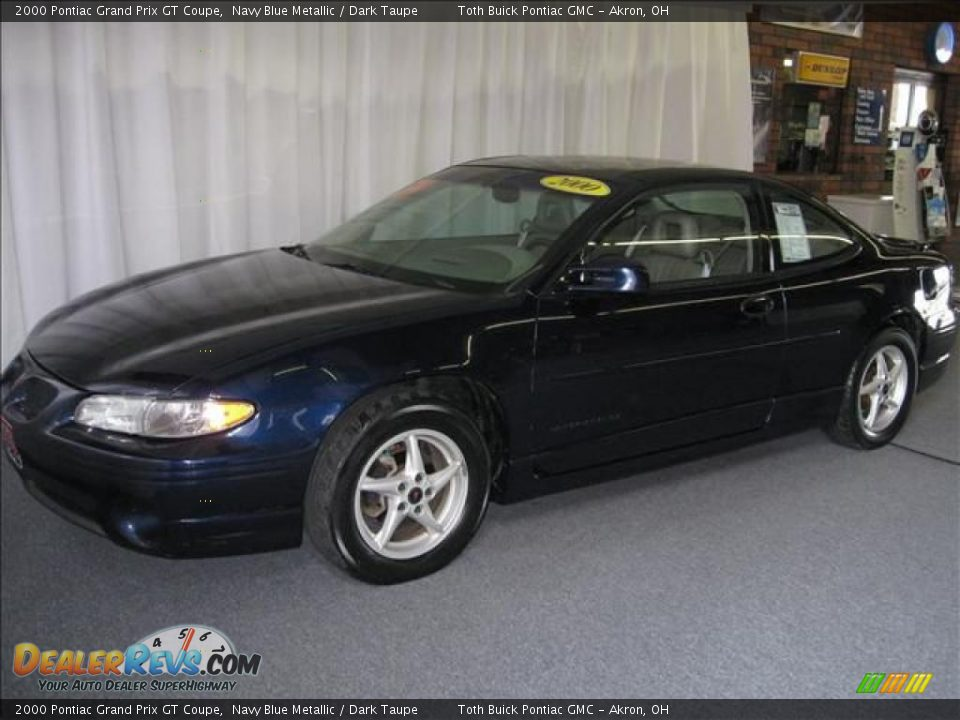 2000 pontiac grand prix gt coupe navy blue metallic dark taupe photo 6. Black Bedroom Furniture Sets. Home Design Ideas