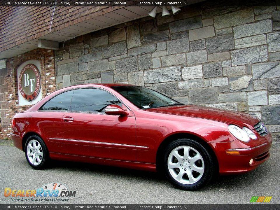 2003 mercedes benz clk 320 coupe firemist red metallic for 2003 mercedes benz clk 320
