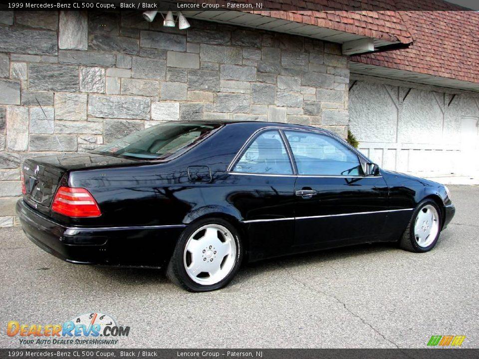 1999 Mercedes Benz Cl 500 Coupe Black Black Photo 5