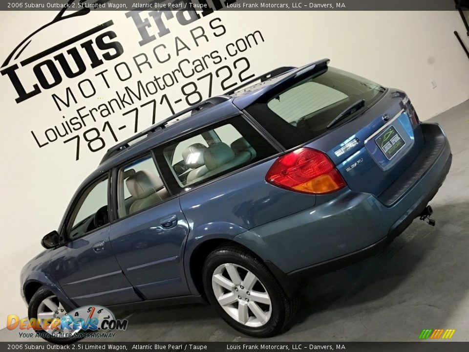 2006 Subaru Outback 2.5i Limited Wagon Atlantic Blue Pearl / Taupe Photo #3