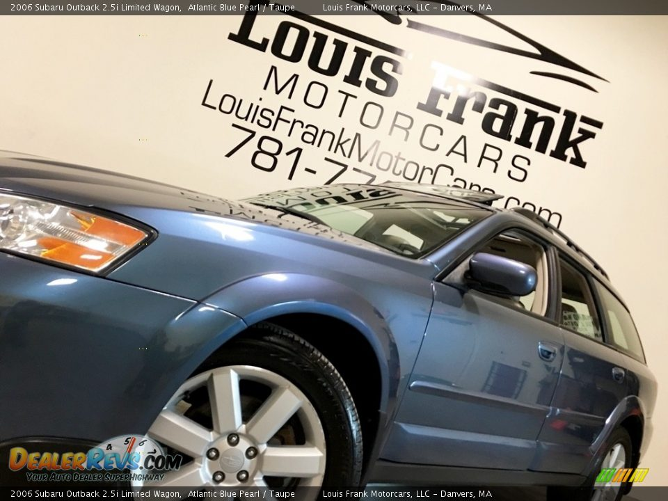 2006 Subaru Outback 2.5i Limited Wagon Atlantic Blue Pearl / Taupe Photo #13