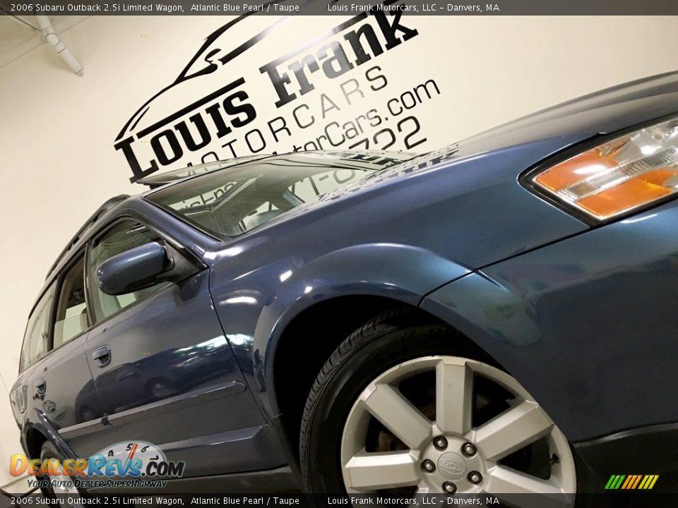 2006 Subaru Outback 2.5i Limited Wagon Atlantic Blue Pearl / Taupe Photo #15
