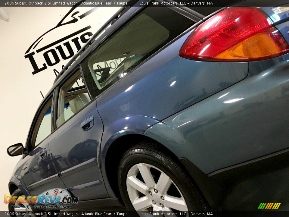 2006 Subaru Outback 2.5i Limited Wagon Atlantic Blue Pearl / Taupe Photo #16