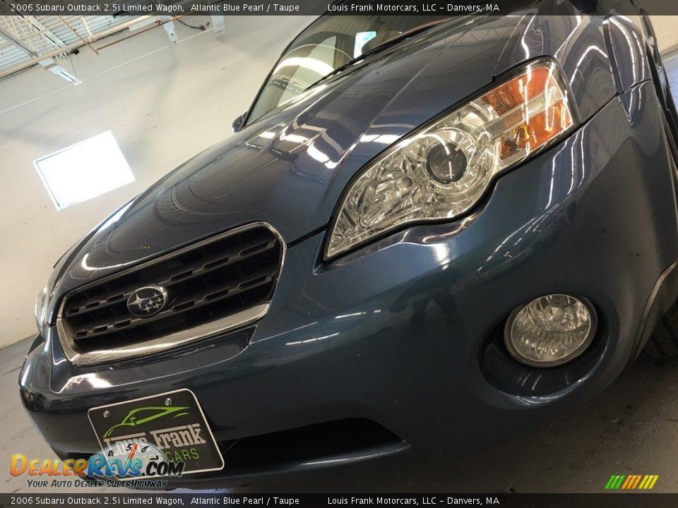 2006 Subaru Outback 2.5i Limited Wagon Atlantic Blue Pearl / Taupe Photo #24