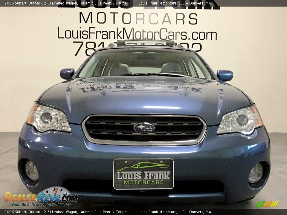 2006 Subaru Outback 2.5i Limited Wagon Atlantic Blue Pearl / Taupe Photo #25