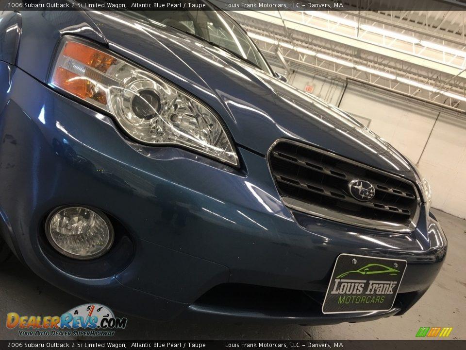 2006 Subaru Outback 2.5i Limited Wagon Atlantic Blue Pearl / Taupe Photo #26