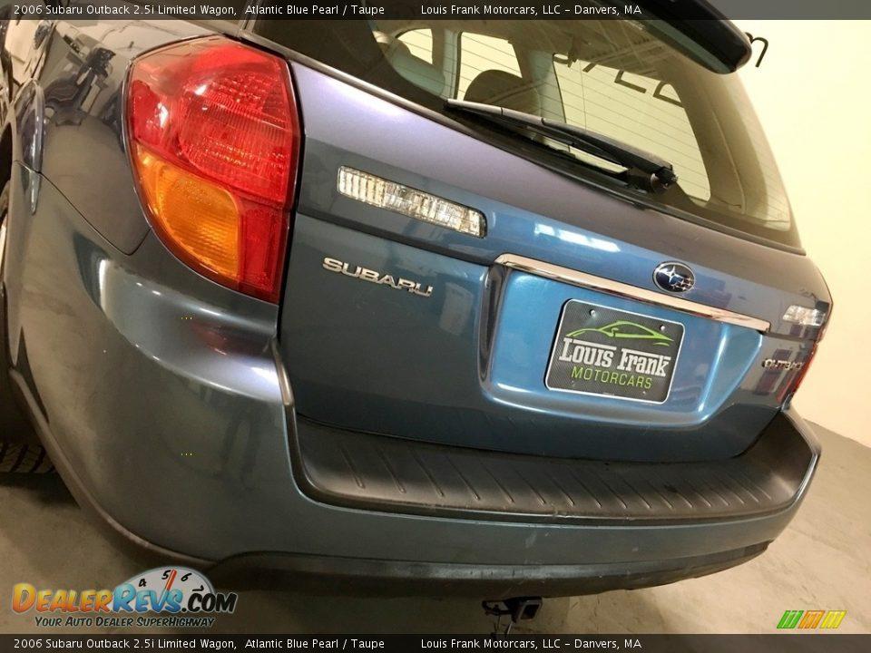 2006 Subaru Outback 2.5i Limited Wagon Atlantic Blue Pearl / Taupe Photo #29