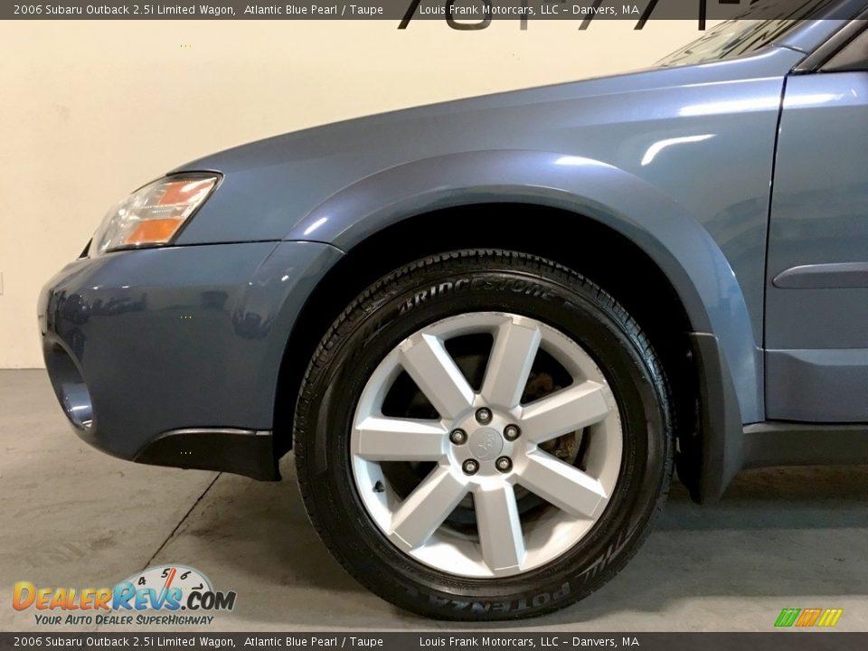 2006 Subaru Outback 2.5i Limited Wagon Atlantic Blue Pearl / Taupe Photo #30