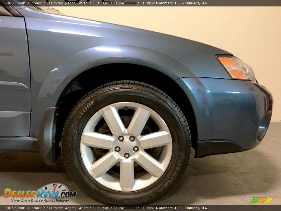 2006 Subaru Outback 2.5i Limited Wagon Atlantic Blue Pearl / Taupe Photo #31