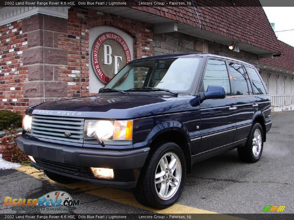 2002 land rover range rover 4 6 hse oslo blue pearl. Black Bedroom Furniture Sets. Home Design Ideas