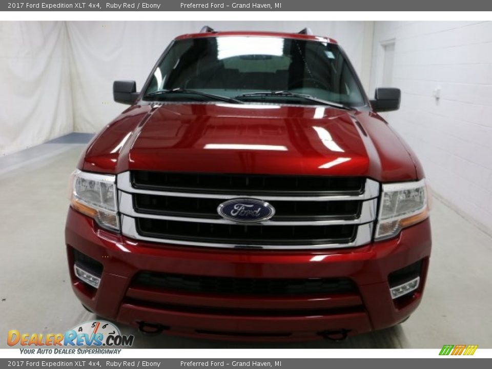 2017 Ford Expedition XLT 4x4 Ruby Red / Ebony Photo #11