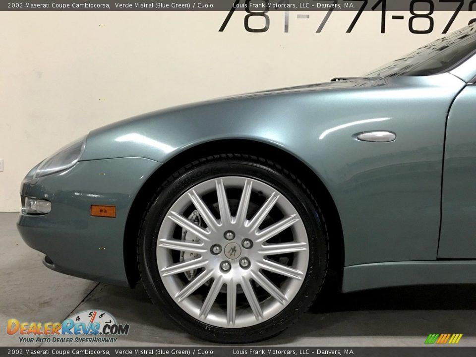2002 Maserati Coupe Cambiocorsa Verde Mistral (Blue Green) / Cuoio Photo #30
