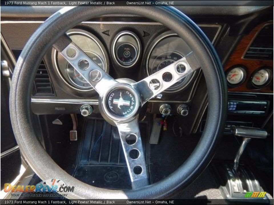 1973 Ford Mustang Mach 1 Fastback Steering Wheel Photo #5