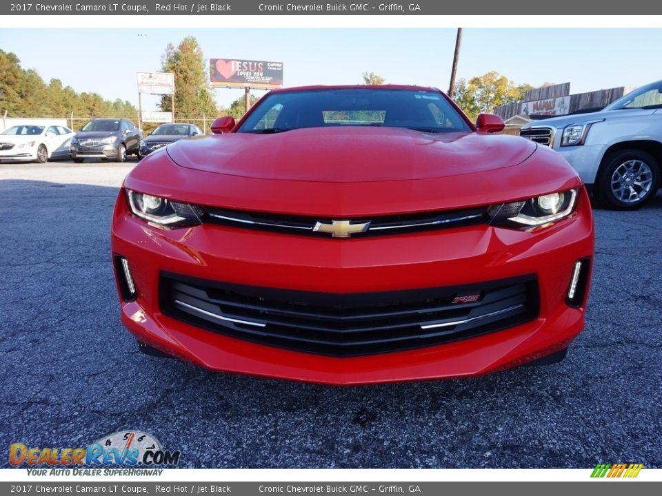 2017 Chevrolet Camaro LT Coupe Red Hot / Jet Black Photo #2