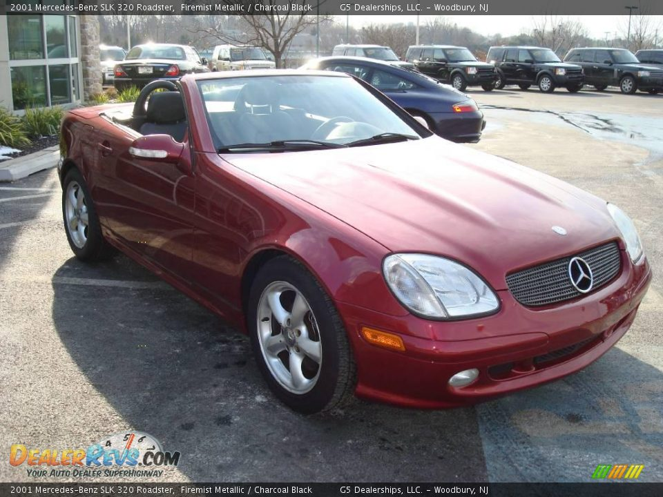 2001 mercedes benz slk 320 roadster firemist metallic for 2001 mercedes benz slk320