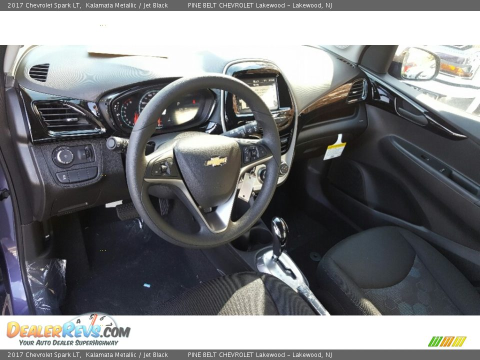 2017 Chevrolet Spark LT Kalamata Metallic / Jet Black Photo #9