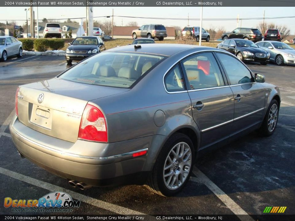 2004 volkswagen passat w8 4motion sedan stonehenge grey metallic grey photo 7. Black Bedroom Furniture Sets. Home Design Ideas
