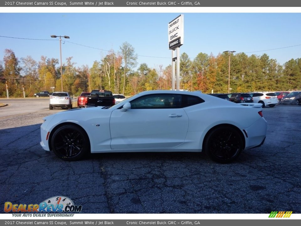 2017 Chevrolet Camaro SS Coupe Summit White / Jet Black Photo #4