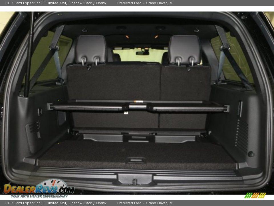 2017 Ford Expedition EL Limited 4x4 Shadow Black / Ebony Photo #8