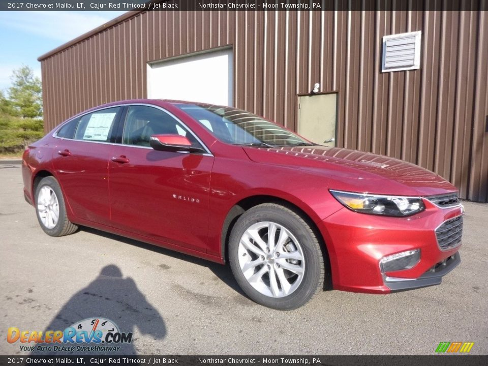 2017 Chevrolet Malibu LT Cajun Red Tintcoat / Jet Black Photo #3