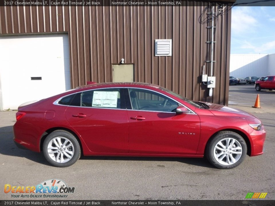 2017 Chevrolet Malibu LT Cajun Red Tintcoat / Jet Black Photo #4