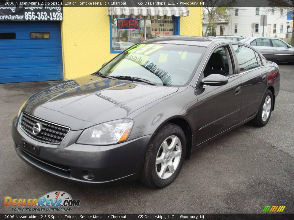 2006 nissan altima 2 5 s special edition smoke metallic charcoal photo 1. Black Bedroom Furniture Sets. Home Design Ideas