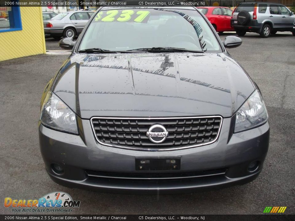 2006 nissan altima 2 5 s special edition smoke metallic charcoal photo 2. Black Bedroom Furniture Sets. Home Design Ideas