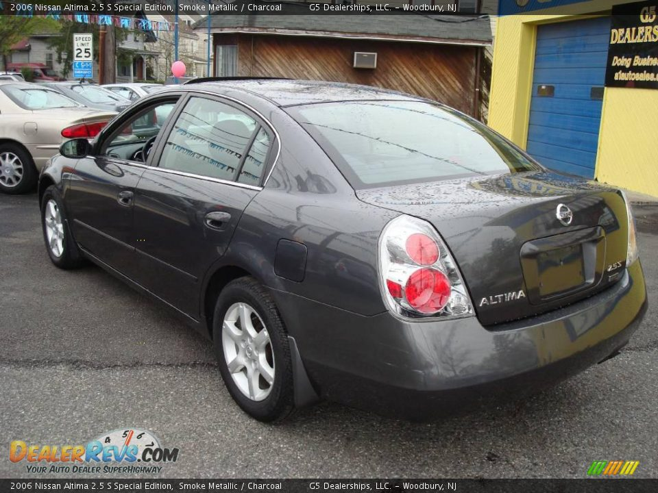 2006 nissan altima 2 5 s special edition smoke metallic charcoal photo 7. Black Bedroom Furniture Sets. Home Design Ideas