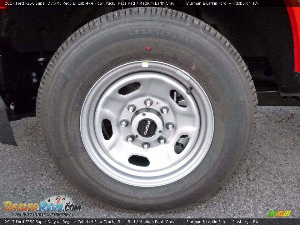 2017 Ford F250 Super Duty XL Regular Cab 4x4 Plow Truck Wheel Photo #7