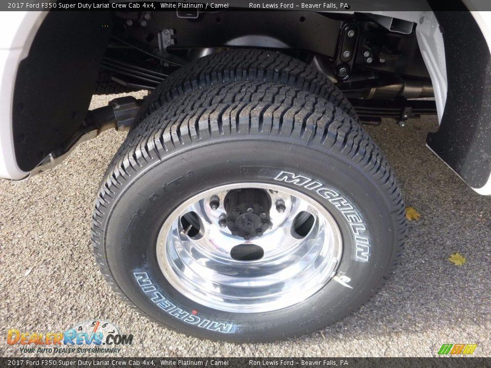 2017 Ford F350 Super Duty Lariat Crew Cab 4x4 Wheel Photo #9