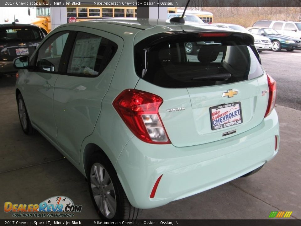 2017 Chevrolet Spark LT Mint / Jet Black Photo #3