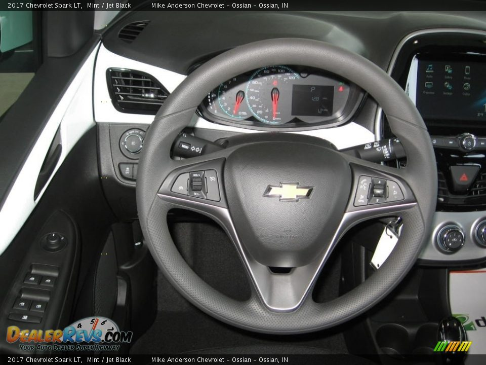 2017 Chevrolet Spark LT Steering Wheel Photo #4
