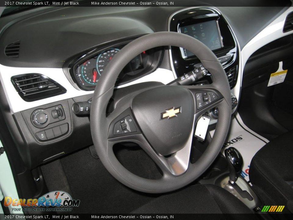 2017 Chevrolet Spark LT Mint / Jet Black Photo #6