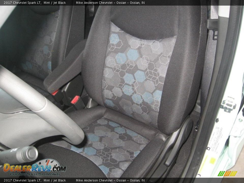 Front Seat of 2017 Chevrolet Spark LT Photo #7