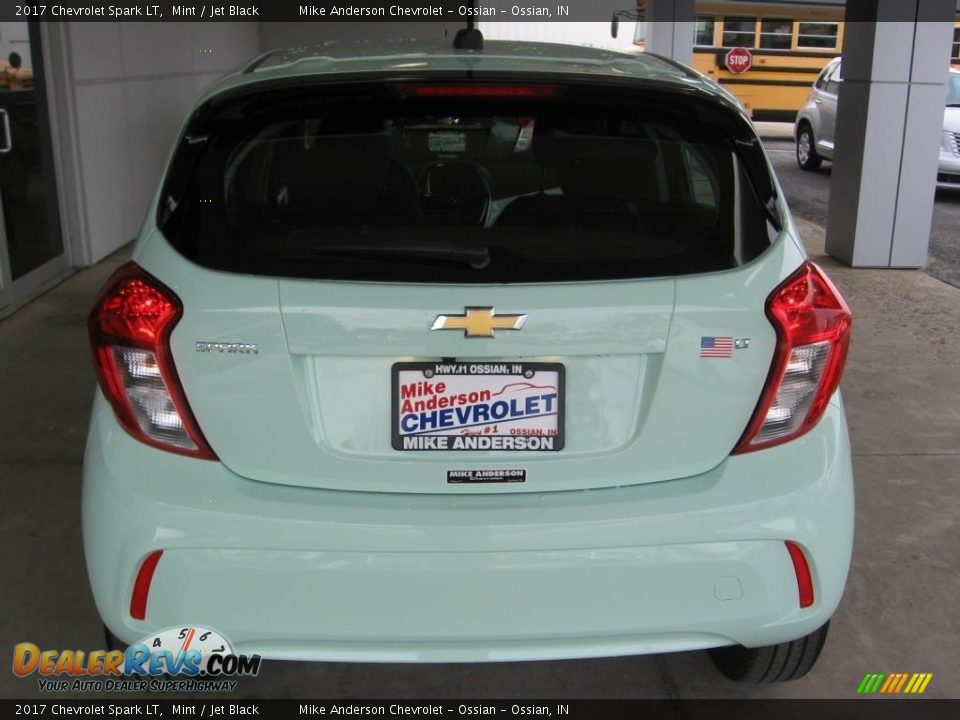 2017 Chevrolet Spark LT Mint / Jet Black Photo #16