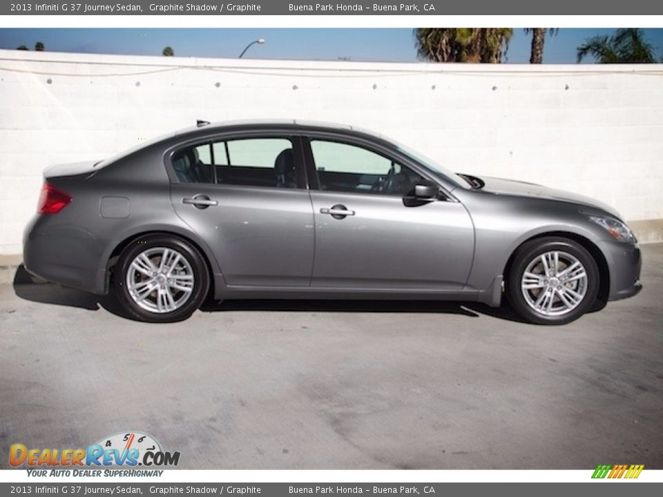 2013 Infiniti G 37 Journey Sedan Graphite Shadow / Graphite Photo #8