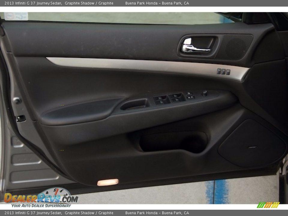 2013 Infiniti G 37 Journey Sedan Graphite Shadow / Graphite Photo #22