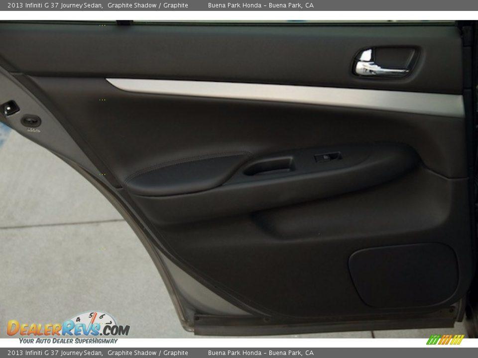 2013 Infiniti G 37 Journey Sedan Graphite Shadow / Graphite Photo #23