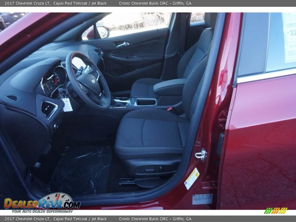 2017 Chevrolet Cruze LT Cajun Red Tintcoat / Jet Black Photo #9