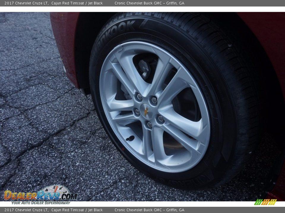2017 Chevrolet Cruze LT Cajun Red Tintcoat / Jet Black Photo #12