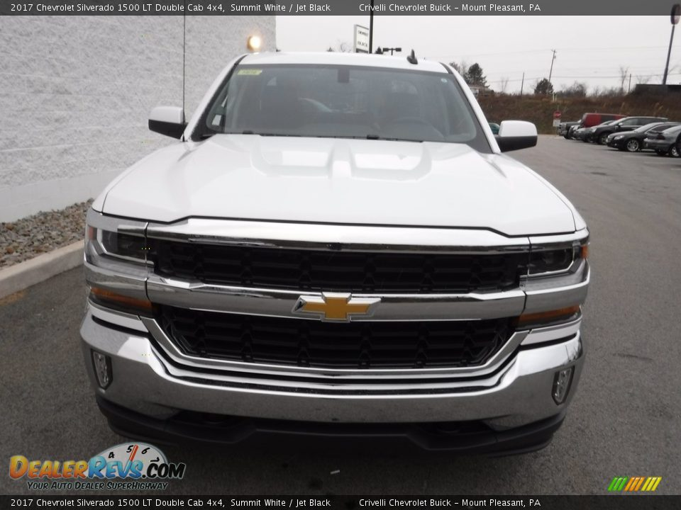 2017 Chevrolet Silverado 1500 LT Double Cab 4x4 Summit White / Jet Black Photo #5