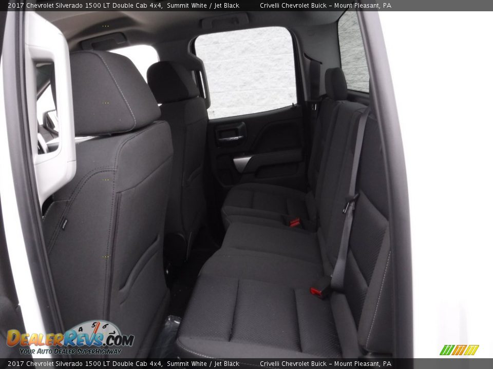 2017 Chevrolet Silverado 1500 LT Double Cab 4x4 Summit White / Jet Black Photo #17