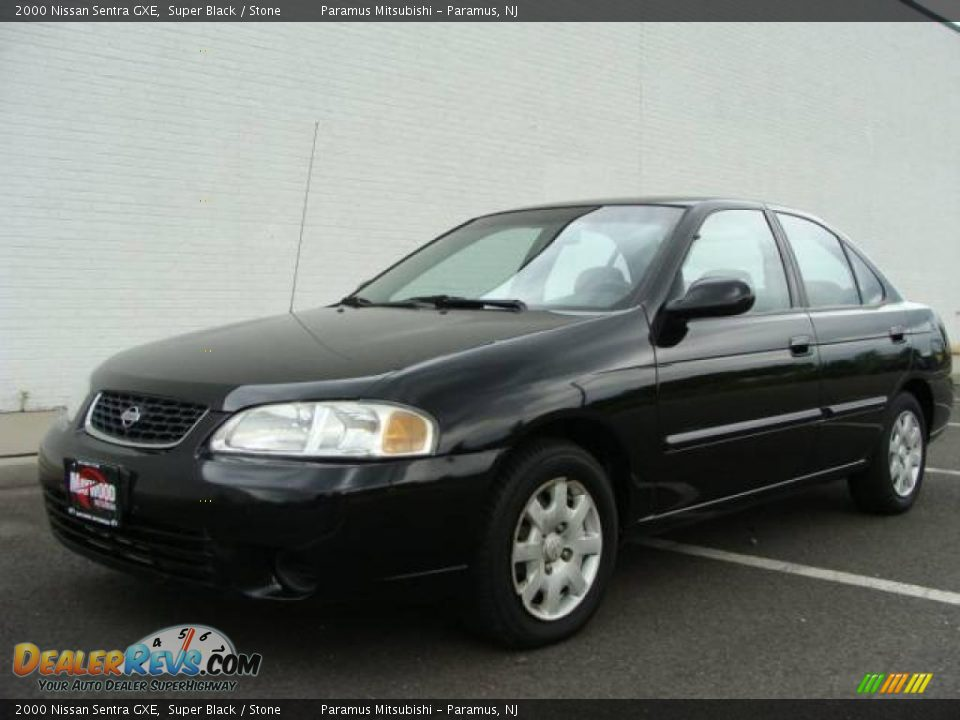 2000 Nissan Sentra Gxe Super Black Stone Photo 1