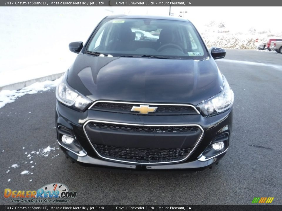 2017 Chevrolet Spark LT Mosaic Black Metallic / Jet Black Photo #4
