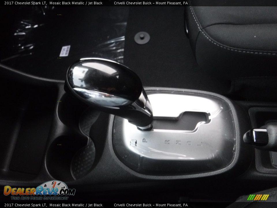 2017 Chevrolet Spark LT Mosaic Black Metallic / Jet Black Photo #18