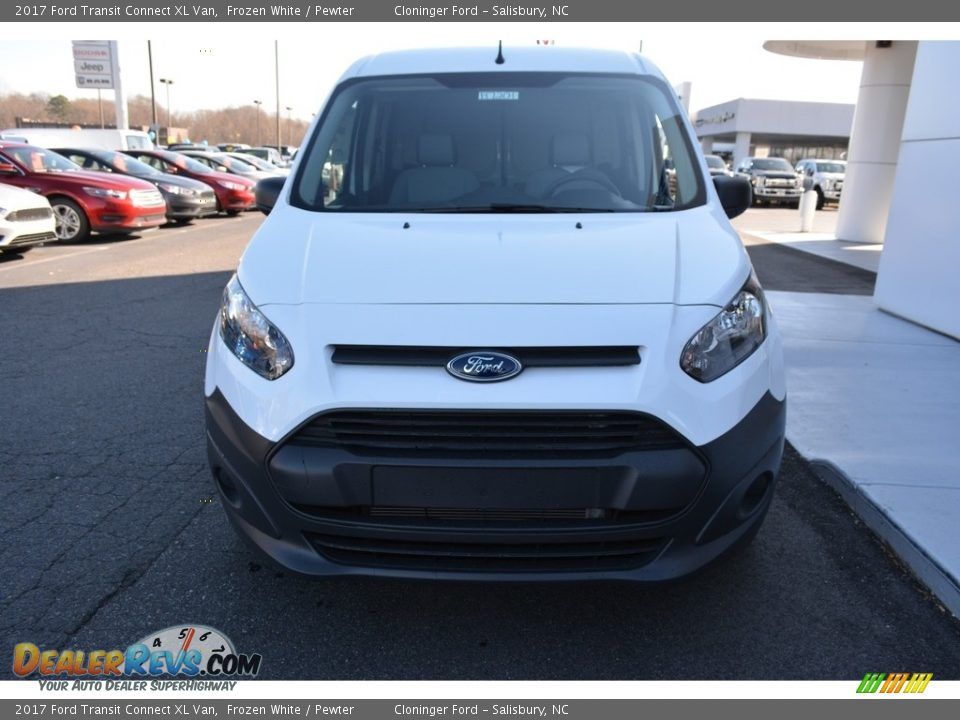 2017 Ford Transit Connect XL Van Frozen White / Pewter Photo #4