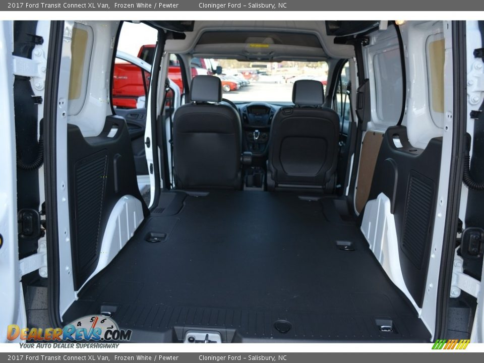 2017 Ford Transit Connect XL Van Frozen White / Pewter Photo #9